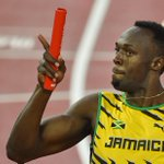RT @BBCSport: It's gold number three for @usainbolt at #Beijing2015.  Jamaica win the 4x100m relay in 37.36  http://t.co/uFq7k2SwhY