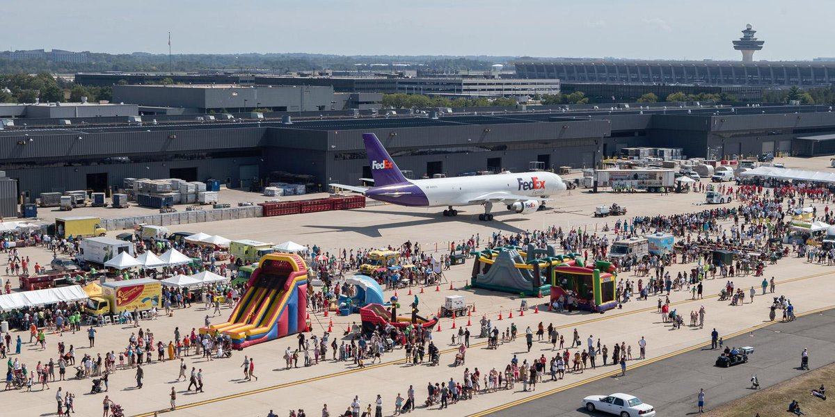 Just 3 weeks until DullesDay Sept. 19. A great way to experience the airport up close!