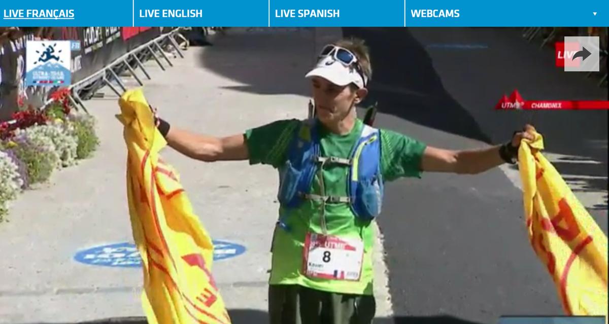 #UTMB WINNER ! Congratulations, Xavier Thevenard is the LEGEND  #UTMBTV http://t.co/ALZIUGJ1IA