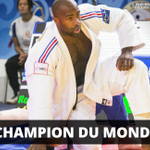 TEDDY RINER EST UN MONSTRE ! 1er dans lhistoire du judo avec 8 titres mondiaux ! http://t.co/aEH7sEXuWh