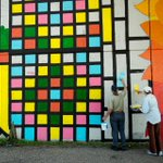 New outdoor murals add a splash of color to downtown Grand Rapids http://t.co/960NGoKfWw http://t.co/Qrxs5FqpM3