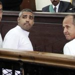 Three Al-Jazeera English journalists have been sentenced to 3 years in prison in Egypt. http://t.co/yQkK3XtdR1 http://t.co/soULOWxCcK