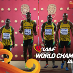And another gold for Jamaica! The mens 4x100m take the gold in a WL 37.36! Congratulations! http://t.co/3LugTnkEFc