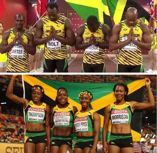 Small Island in size!! BIG HEART!! Best at whatever we Do!! Go tell the World #JAMAICA #1 #LiveLawless http://t.co/G3x01c6K0S