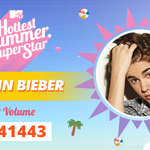 MTVMusicUK 2. #Beliebers! It was super tight, but @justinbieber is this years runner up with 91,941,443 votes! ???? http://t.co/eMVx0BA5ha