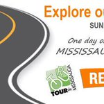 TOUR DE MISSISSAUGA: Sun Sept 20. Explore our city by bike! Press Release: http://t.co/H3GRhrz8QA #TourdeMississauga http://t.co/sMDIjJXYqb
