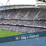 0. Mark Clattenburg blows his whistle and we are OFF! Come on, City! #cityvwatford #mcfc http://t.co/FLdf79xDaQ