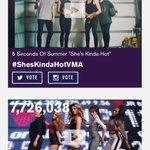 Close to 8,000,000 votes! Lets do it! #ShesKindaHotVMA http://t.co/1SOvhX5xT9