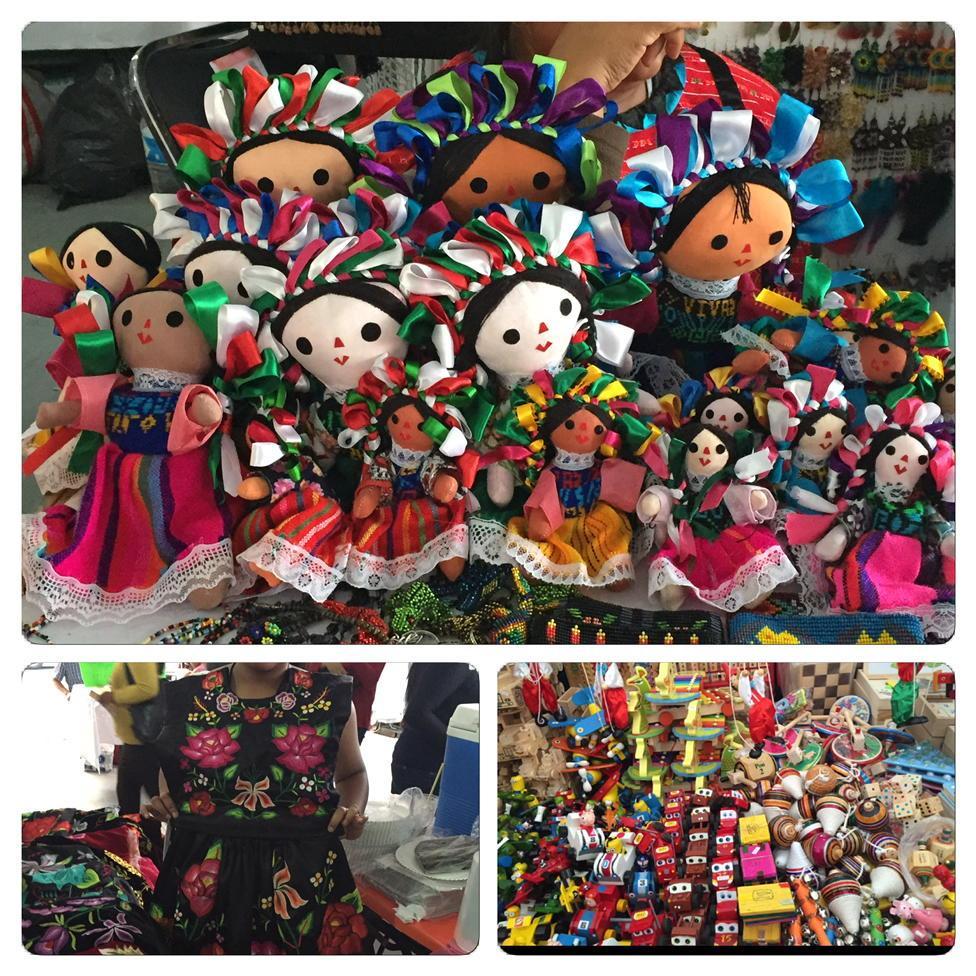 Los niños pueden conocer juguetes tradicionales mexicanos en la #FiestadelasCulturasIndigenas http://t.co/lLegqRYk74