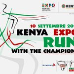 #KenyaExpoRun, the first race inside an Universal Exposition is at the starting blocks http://t.co/zks3hGcTAX http://t.co/o3pHjWLh4j