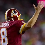 THIS JUST IN: Redskins plan to start Kirk Cousins Week 1 against the Dolphins. (via @diannaESPN) http://t.co/KleYwYR7VJ