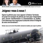 Signez la pétition contre le projet de Belledune dès maintenant: http://t.co/LmCexXWy26 #polQc #assnat http://t.co/dNTYHchx39