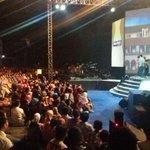 """Terima kasih Semarang sudah jadi tuan rumah @MataNajwa on Stage """"CINTA UNTUK NEGERI."""" Didukung oleh #FiestaWhiteTea http://t.co/zNnmLbiHk0"""