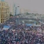بالصور - آلاف المتظاهرين في ساحة الشهداء #طلعت_ريحتكم http://t.co/i6OryECJpf http://t.co/qv9VVIxRqE