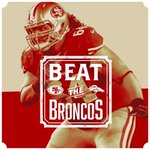 Its gameday! #BeatTheBroncos #SFvsDEN http://t.co/NW8248iBWJ