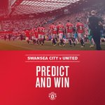 Who will start v Swansea? Correctly predict the #mufc XI here: http://t.co/qZSjBvY8CI. You could win a signed shirt! http://t.co/jhCcAm4UJl