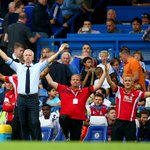 Just look at Alan Pardew! Not many can say theyve beaten Mourinhos #CFC at home in the PL.. http://t.co/gngrLMMQdg http://t.co/hCqa6cWumh