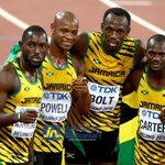 Congratulations to Jamaicas 4x1 team for destroying the USA in 37.36, a WL time at #Beijing2015 @JamaicaNational http://t.co/NOCTFT2OvI
