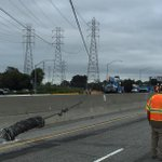 #Burlingame - Crews repairing 3rd-party damage to transmission lines. Re-opening of Hwy 101 targeted for 5pm. http://t.co/UIQIyiZXD8