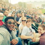 Thank you @erie_seawolves for a great introduction to American culture for our international exchange students! http://t.co/laeChL4NDA