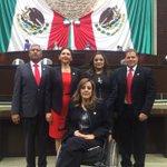 Los @DiputadosPRI por Durango en sesión del CU en un momento tomaremos protesta de ley. http://t.co/bl8Mhm5W1m