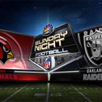 On @SNFonNBC, everyone will be watching. Raiders-Cardinals: http://t.co/Cw88svqNq3 http://t.co/KzUTVYfGpp