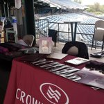 Stop in by our booth for some give aways for Crowne Plaza night at the @SyracuseChiefs game! http://t.co/5sKdOss2iz