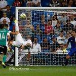 Golazo! Heres @jamesdrodriguez spectacular bicycle kick which put us 4-0 up. ????⚽ #RMLiga #HalaMadrid http://t.co/lxP41IIKfG