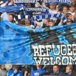 Could we ever see this in the UK? RT @markito0171: Images from football stadiums in #Germany this weekend http://t.co/oBcMJ83Bf8