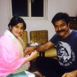 @actorbrahmaji my dearest baaji now official brother ;)