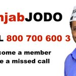 #PunjabJODO Give a Missed call at - +91 800 700 600 3 NRIs can also call on this number to connect with AAP Punjab http://t.co/1nVddOLucN