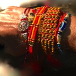 T 1978 - Raksha Bandhan .. and the love and affection of sisters .. on my wrist !! http://t.co/KCsJc2k18B