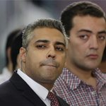 Two Al Jazeera journalists have been returned to Cairos Tora prison, hours after sentencing http://t.co/UQ35UftoeE http://t.co/RjjDfVY6Jy