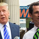 """.@realDonaldTrump defiant after calling @anthonyweiner a """"perv"""" http://t.co/ourTrv0WEm http://t.co/dZlirnj6w2"""