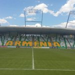 Estadio Centenario de Armenia donde se disputará el #HuilavsDIM. 3:15 p.m. Fecha 9 de la @LigaAguila. http://t.co/4yWFJvKxti