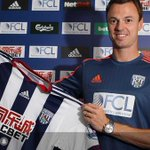 Jonny Evans has signed for West Brom! Good Luck Evans! #MUFC http://t.co/gThnMYnCUI