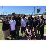 Great football day in the lbc. Peaceful and positive thanks for the love and support 6th … http://t.co/dxKahHCxRF http://t.co/AjkiCiy1WF