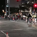 Last night hundreds of bikes took over #losangeles @UBRSA @BicyclingMag @redbullbike @bikemag @PUBLICBikes http://t.co/9iAPYT8g88