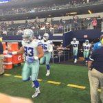 Defense heading out for warmups #MINvsDAL http://t.co/sXqoQUvEi6