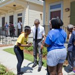 """""""Everybody adds their culture and their flavor into this city's gumbo"""" —@POTUS on New Orleans: http://t.co/zcyA0dGv4a http://t.co/w1XQP9XSiw"""