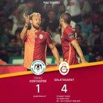 FT: Torku Konyaspor 1-4 Galatasaray! http://t.co/zrtqt5k4Hf