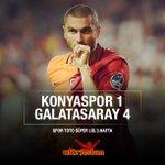 Maç Sonucu | Konyaspor: 1 - GALATASARAYIMIZ: 4 http://t.co/yYJFKtoVZC