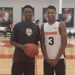 Future Syracuse teammates Tyus Battle and Matthew Moyer @kidmamba23 @matthewmoyer13 @moyer_annette http://t.co/ZxKQTxzmoh