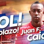 ¡Goooool! ¡Goooool! El goleador Caicedo nos pone a ganar #DIMRadio1440AM #HuilavsDIM 0-1. 12. http://t.co/e68kErl5mE