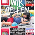 Compare the coverage of refugees in German and British tabloids http://t.co/wYua7kT8tl