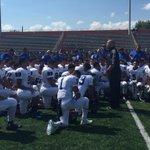 Post game speech from Coach Salinas @956sports #956football http://t.co/JbABgauw4i