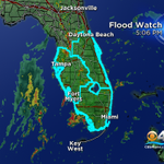 Flood Watch issued for much of Florida as moisture from remnant Erika heads our way. Flooding threat thru Monday. http://t.co/TmzyPyMdzX
