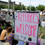 Thousands join demo welcoming #refugees to #Germany's #Dresden   -  http://t.co/TqQMrd39gF http://t.co/EBX6okVfrE
