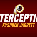 The rookie Kyshoen Jarrett with his first pick! #WASvsBAL #HTTR http://t.co/6Y1CoL2MT0