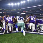 Battle on the field, give thanks after #MINvsDAL http://t.co/e7wuT04zxe